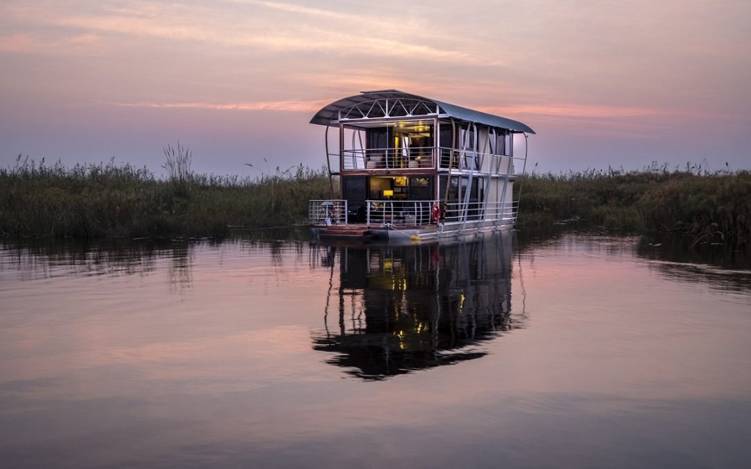 Namushasha River Villa – Une expérience luxueuse du fleuve Kwando en Namibie