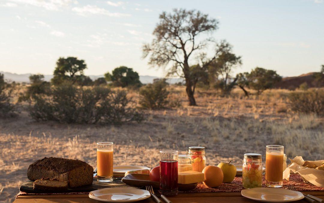 En Namibie, les pistes de gravier mènent au paradis