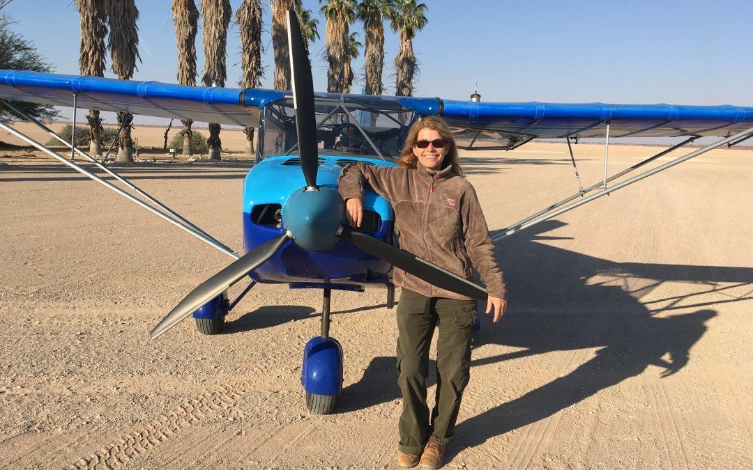La Namibie vue du ciel – Rencontre avec Rachel, pilote d'ULM