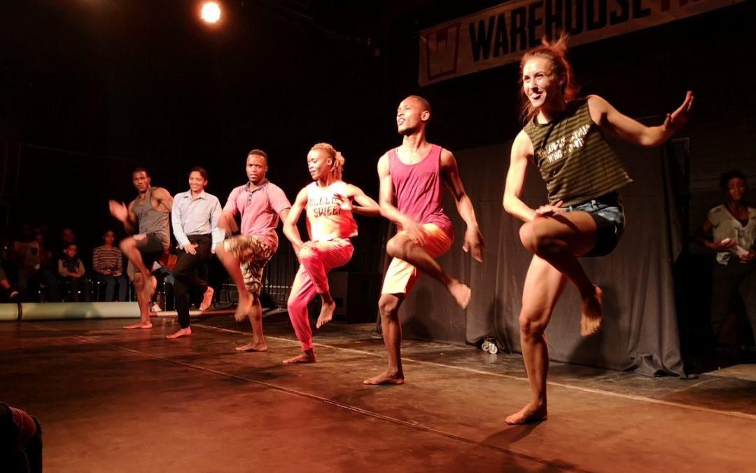 Un spectacle de danse dans la capitale de la Namibie