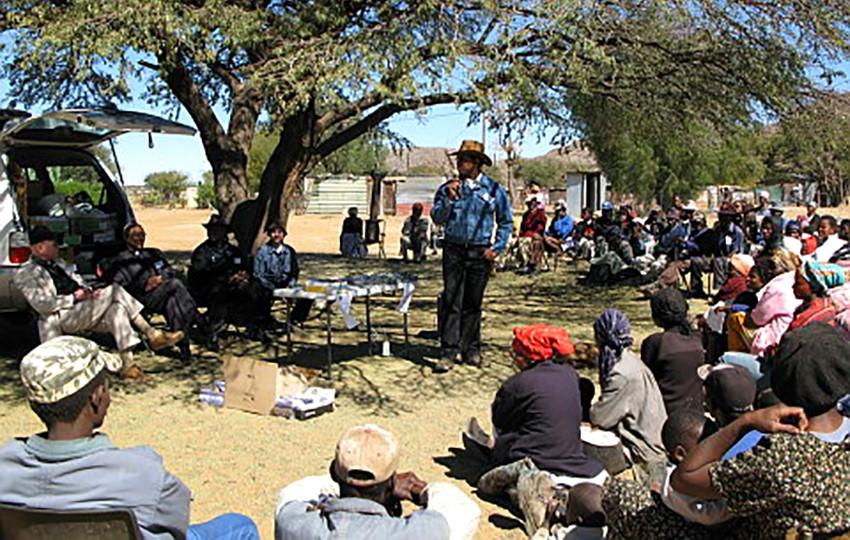 Revenu universel et réduction de la pauvreté en Namibie