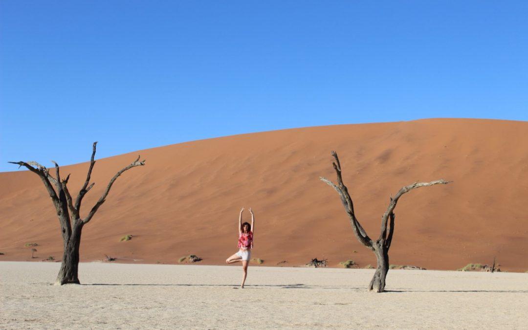 5 raisons de pratiquer le yoga en Namibie